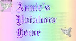 ╭☆ 歡迎光臨 Annie's 彩虹之家 ★╯